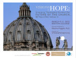 Visions of Hope Conference at Boston College