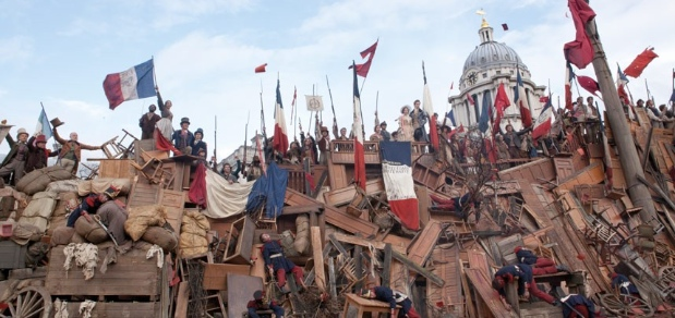 Eschatology at the barricade; Photo by Laurie Sparham/Telegraph.co.uk