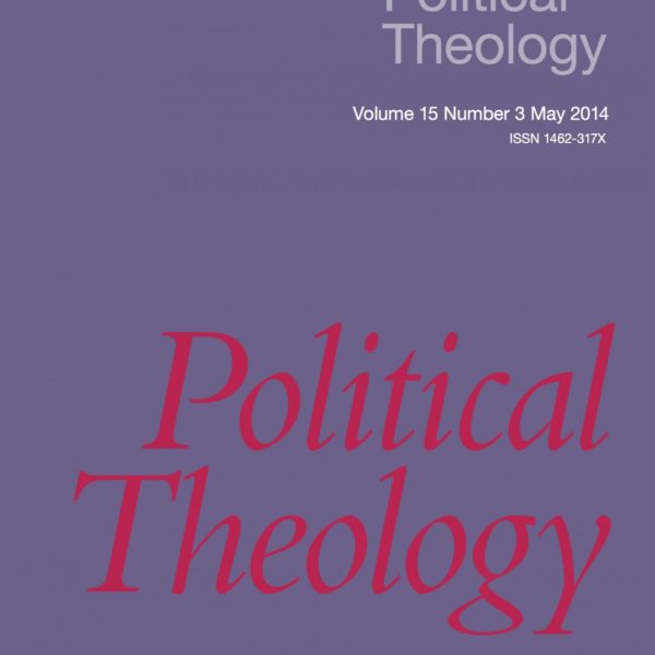 """Announcing """"Political Theology"""" 15.3"""