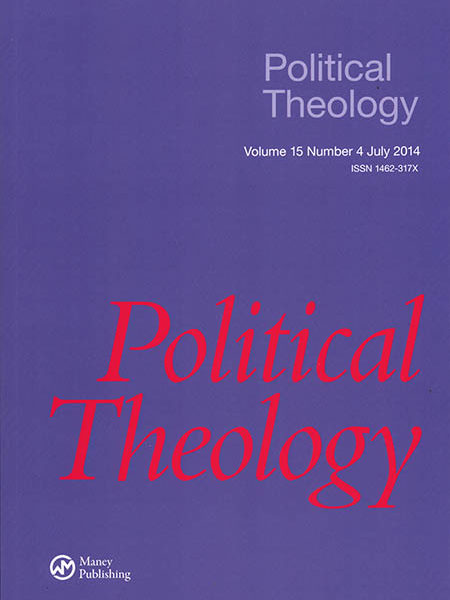 """Announcing """"Political Theology"""" 15.4"""