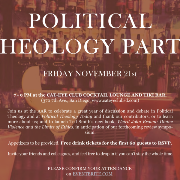 Political Theology Party at the AAR