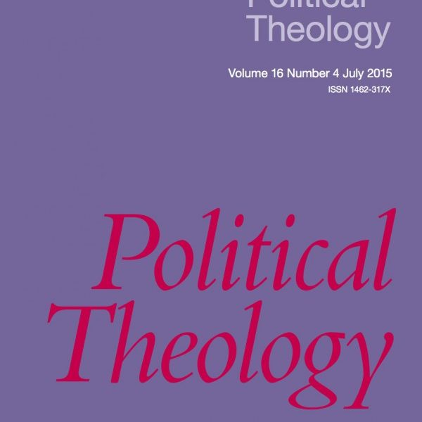 Announcing Political Theology 16.4