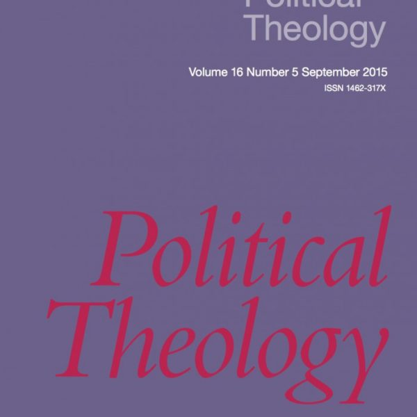 Announcing Political Theology 16.5