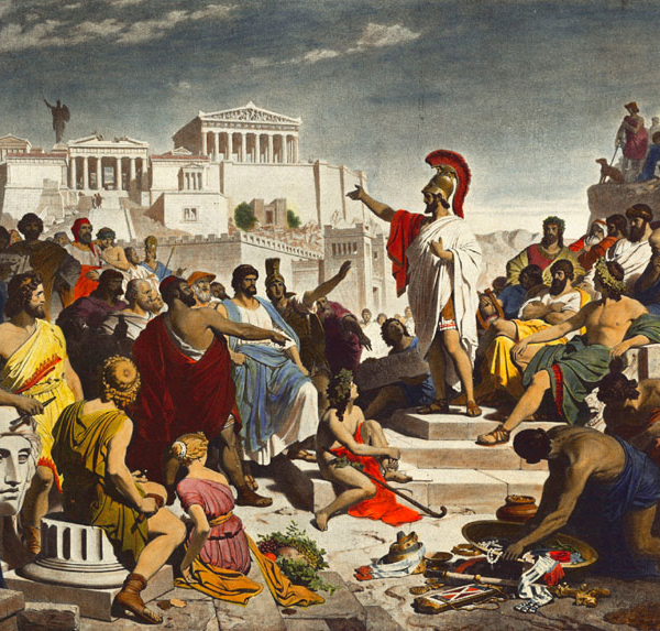 """The Greek Rhetorical Concept of """"Parrhesia"""" As Theological Key To A Renewed Democracy"""