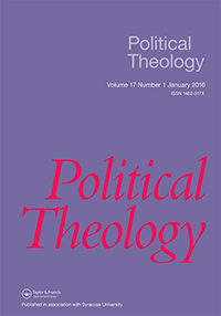 Announcing Political Theology 17.1