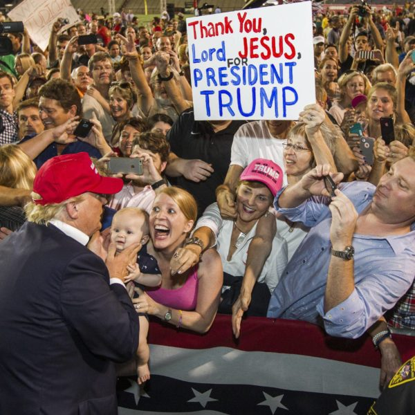 """""""Thank You Lord Jesus For President Trump"""" – Apostolic Theology And The Evangelical Vote (Jonathan Cole)"""