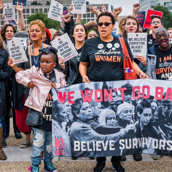 Kavanaugh, Ronell, and Political Theology's Prospects for Making a Difference in Sexual Violence Today