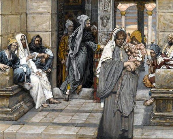 A Widow's Presence—Mark 12:38-44