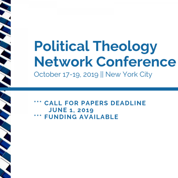 Reminder: Call for papers deadline June 1, 2019