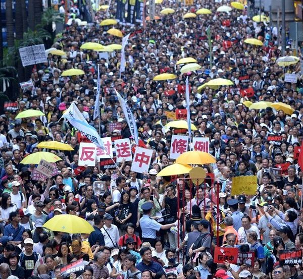 Political Theological Resistance in Hong Kong
