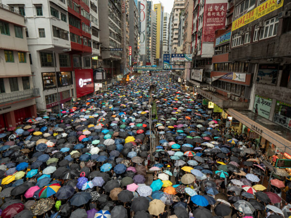 Uncivil and Civil Disobedience in the 2019 Hong Kong Protests