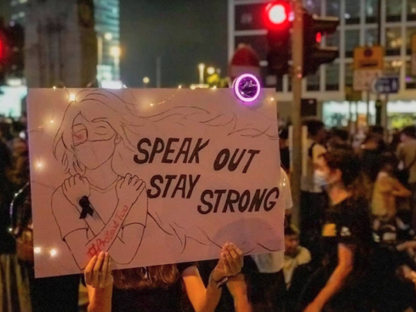"""Hong Kong """"Freedom Cunt"""": Sexual Violence and Crucifixion"""